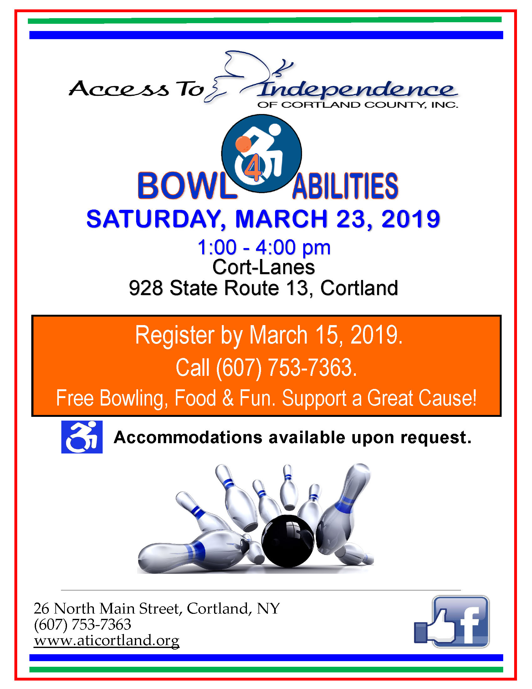 2019 Bowl 4 Abilities Flyer